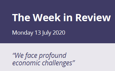The Week in Review Monday 13th July