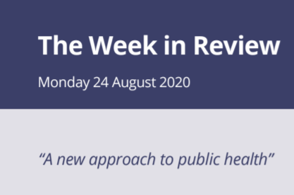 The Week in Review Monday 24th August