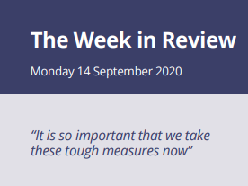 The Week in Review Monday 14th September