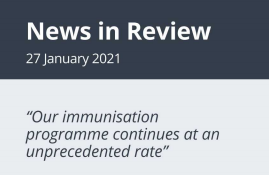 News in Review Wednesday 27th January 2021