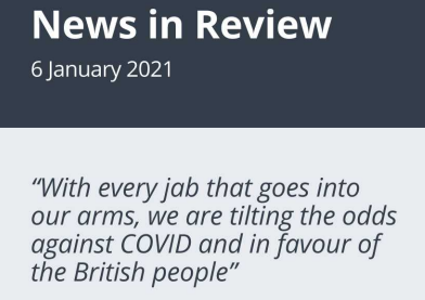 News in Review Wednesday 6th January 2021