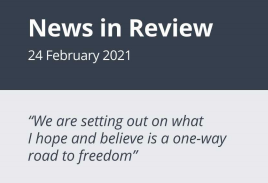News in Review Wednesday 24th February 2021