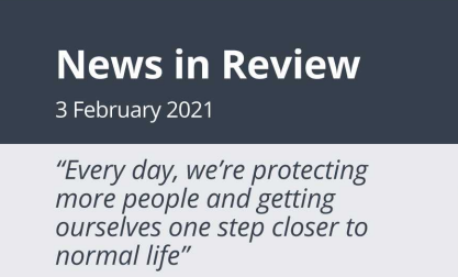News in Review Wednesday 3rd February 2021