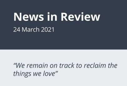 News in Review Wednesday 24th March 2021